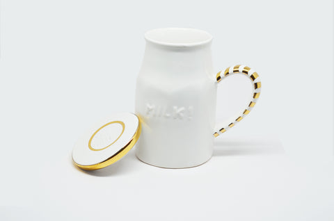 MILK CAN MUG WITH LID - Vriksh of Life