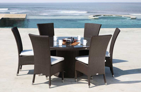 GEBE Grace High Back Chair And Table Dining Set - Vriksh of Life