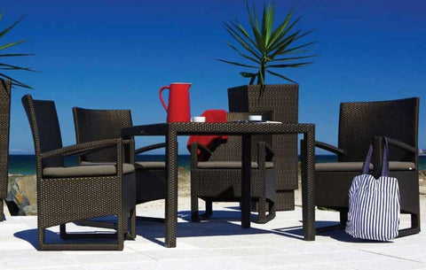 GEBE Abigail Chair And Table Dining Set - Vriksh of Life