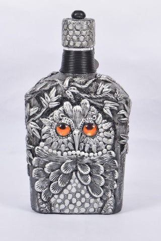 Gentle Man Jack Owl Bottle Art - Vriksh of Life