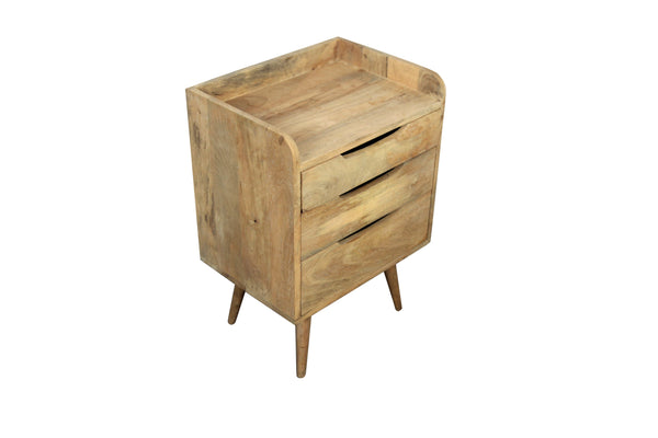 Chest Of Drawers In Oak Finish Small - Vriksh of Life