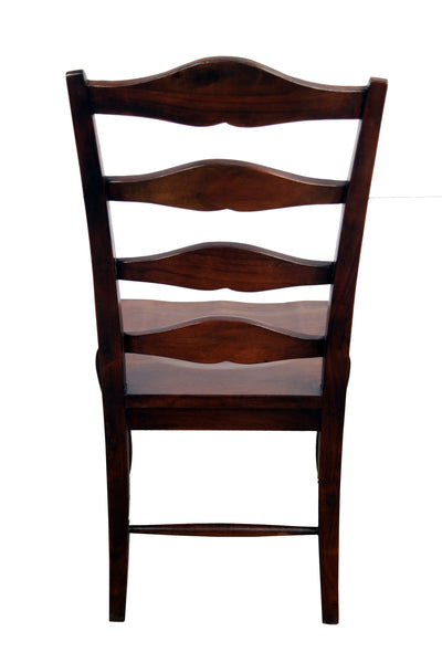 Teak Wood Ladder Dining Chair - Vriksh of Life