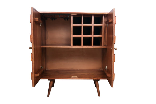 Waves Bar Cabinet - Vriksh of Life