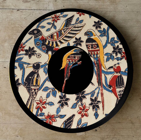 Hand Painted Wall Plate Kalamkari-002 - Vriksh of Life