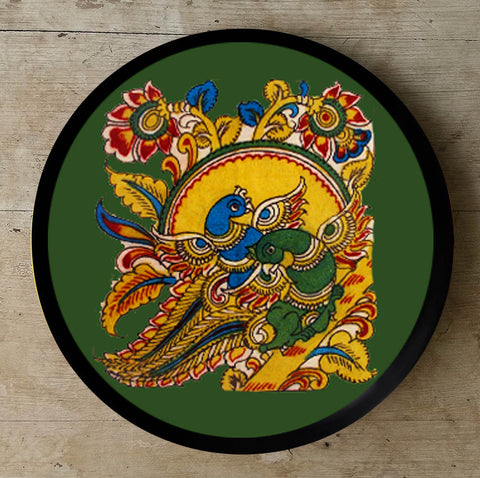Hand Painted Wall Plate Kalamkari-013 - Vriksh of Life