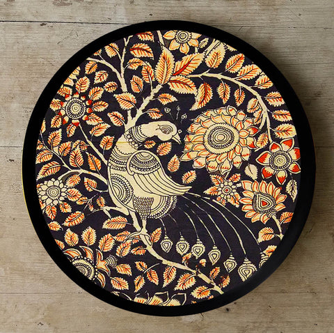 Hand Painted Wall Plate Kalamkari-015 - Vriksh of Life