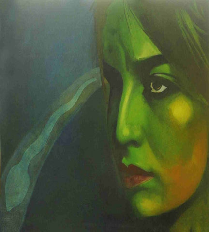 Acrylic Painting By Mr. Milan Desai - Vriksh of Life