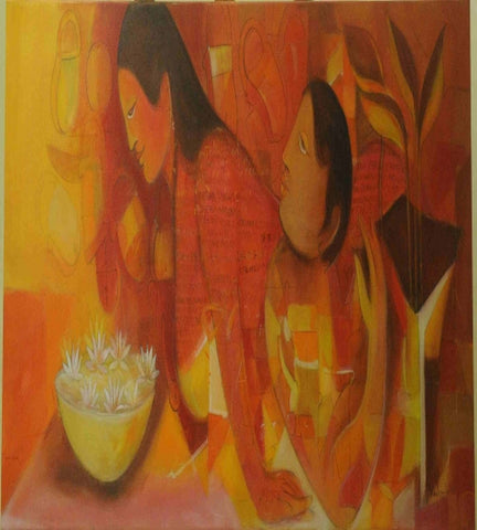 Acrylic Painting By Mr. Madan Lal - Vriksh of Life