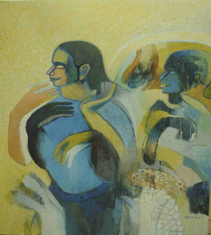 Acrylic Painting By Mr. Brij Mohan Arya - Vriksh of Life