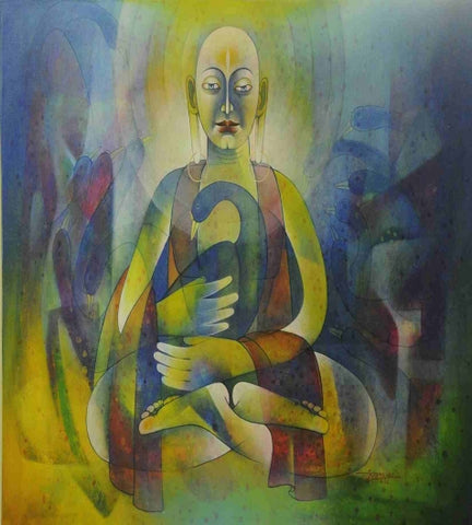 Acrylic Painting By Mr. Nandlal Thakur - Vriksh of Life