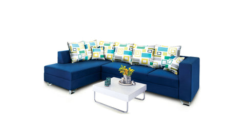 Miami Fabulous L Shaped Sofa - Vriksh of Life