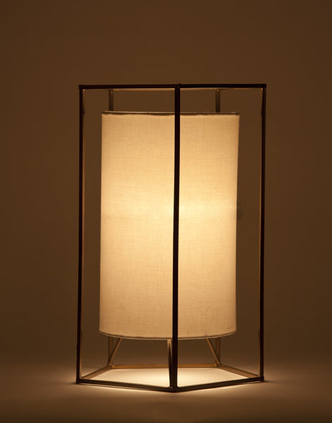 Cuboid Table Lamp - Vriksh of Life