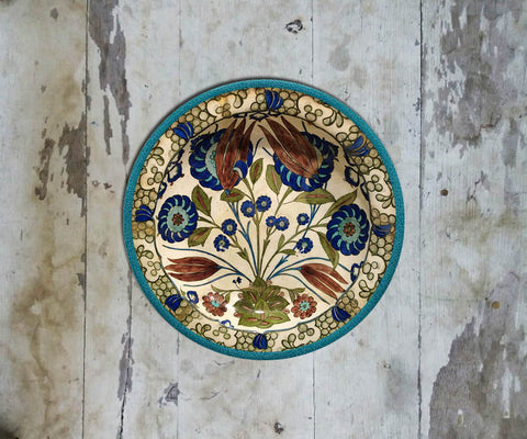 Handpainted Turkish Wall Plate - 087 - Vriksh of Life