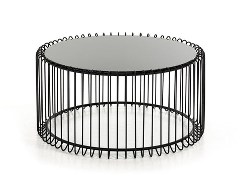 Cage Black Coffee Table - Vriksh of Life