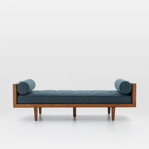 Wood Frame Tufted Daybed - Vriksh of Life