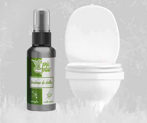 Pû Plû, the all natural before you poop toilet spray