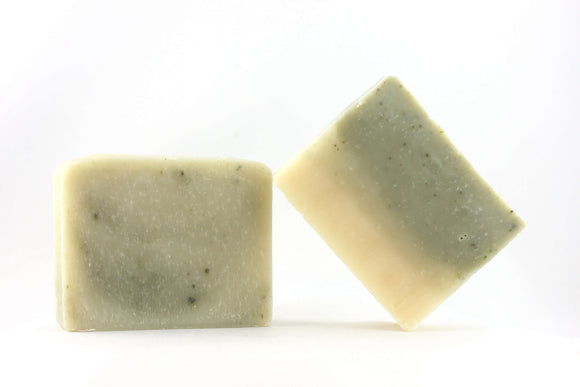 two bars of peppermint soap