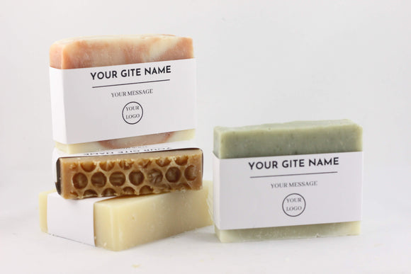 10 Branded guest soaps