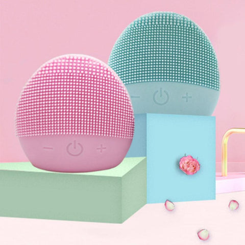 USB Facial Cleansing Brush Sonic Vibration