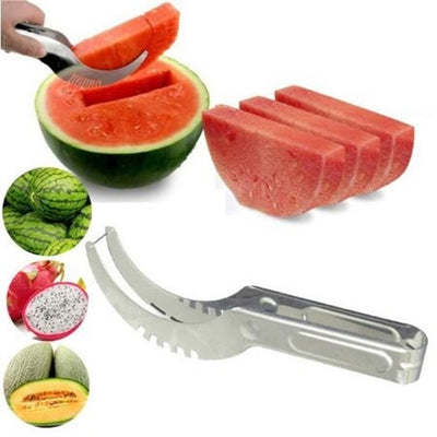 Watermelon Cutter Knife Cucumis Melon Cutter