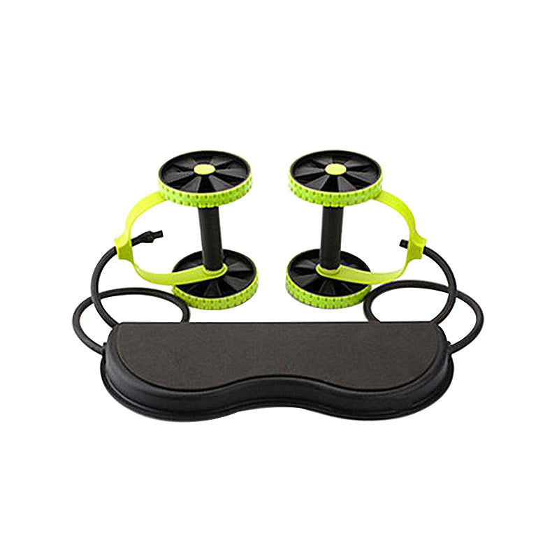 Double Wheel Abdominal Power Wheel Ab Roller