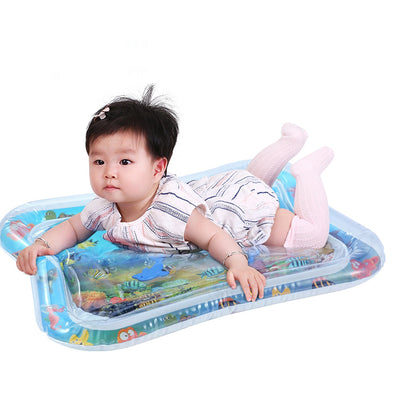 Inflatable thicken PVC infant Tummy Time Playmat