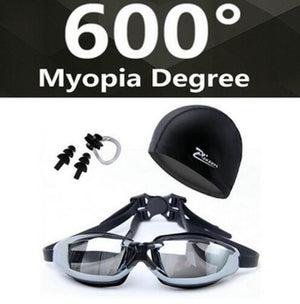 HD Shortsighted Swimming Glasses