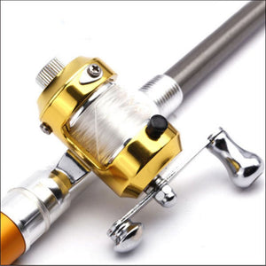 Portable Pocket Telescopic Mini Fishing Rod