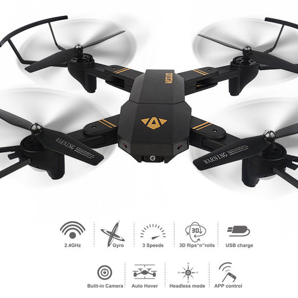 VISUO Quadcopter Wifi FPV 2MP Camera - Bargain and Save | Up to 85% Off RRP
