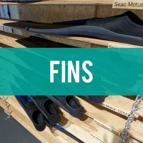 Fins for freediving and spearfishing
