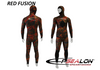 Epsealon Red Fusion 1.5mm Wetsuit Pants