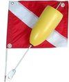 Torpedo Float with Nylon Flag