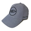 FLF Lucky Curve Hat, Blue Fade Black Logo