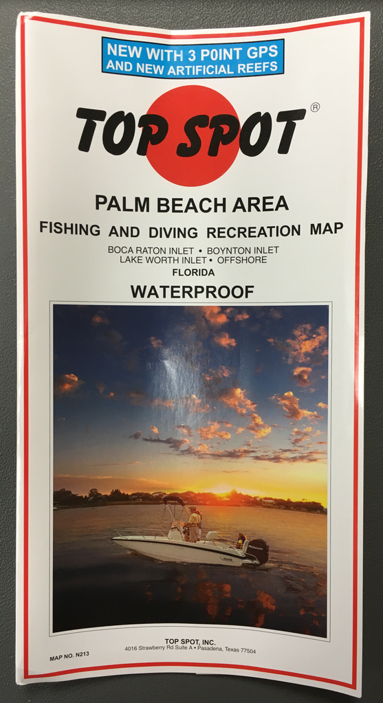d4313789ba Palm Beach Top Spot Charts- Boca Raton to Lake Worth Inlet Offshore