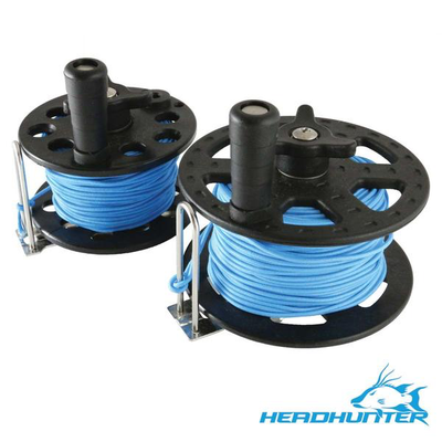 HeadHunter 37M/125' Reel with Blue Spectra