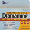 Dramamine Chewable- 2 Tablets