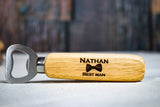 Engraved Best Man Bottle Openers
