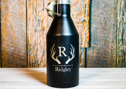 Custom Engraved Stainless Beer Growler
