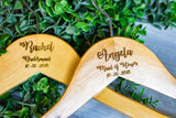 Personalized Bridesmaid Hangers, Engraved Bridal Party Hangers