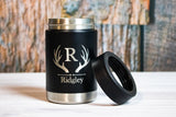 Personalized Stainless Steel Can Holder- Vacuum Insulated