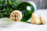 Nautical Wedding Favors- Engraved Wine Stoppers
