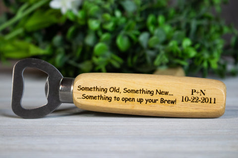 Funny Wedding Favors- Custom Beer Bottle Openers