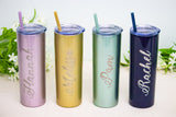 Personalized 20 oz Skinny Tumblers - More Colors Available