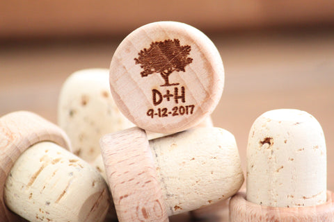 Wedding Favors Wine Stoppers, Personalized Wedding Favors for guests