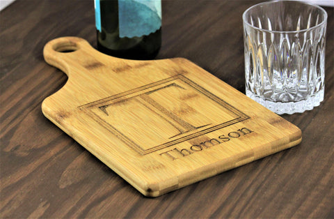 Personalized Cheese Board, Custom Engraved Cheese Cutting Board