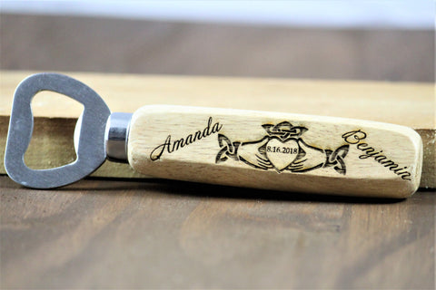Claddagh Wedding Favors, Claddagh Bottle Openers
