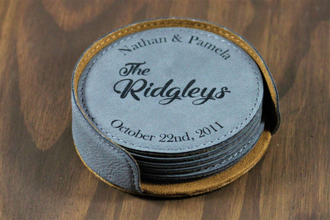 Personalized Coaster Set, Personalized coasters