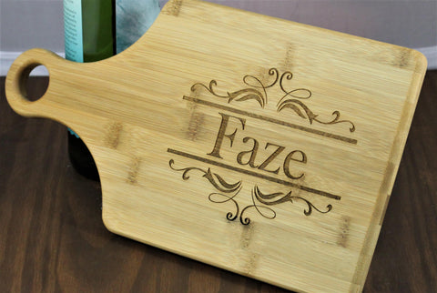Personalized Cheese Board, Personalized Cutting Board
