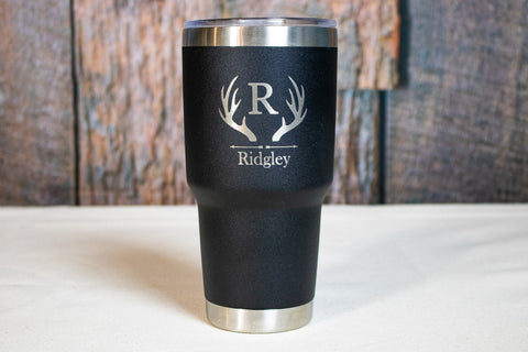 Custom Engraved Stainless Tumbler,  Personalized Stainless Tumbler
