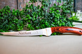 Personalized Fillet Knife, Custom Fishing Knife